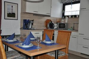 Küche Ferienhaus Ahlers Nordsee