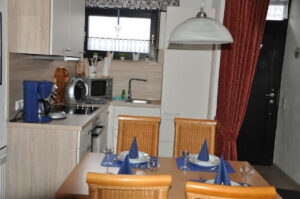 Küche Ferienhaus Tossens Nordsee