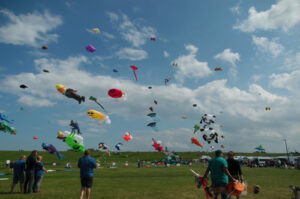 Luftballons Ferienhaus Ahlers Tossens
