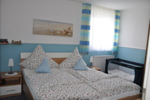 Schlafzimmer Ferienhaus Ahlers