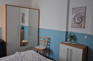 Schlafzimmer Eltern Ferienhaus Ahlers
