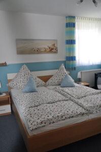 Elternschlafzimmer Ferienhaus Ahlers Nordsee